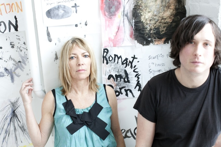 Kim Gordon und Bill Nace bilden das Duo Body/Head.